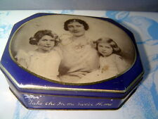 Great Britain Princess Elizabeth and Princess Margret Souviner Toffee Tin