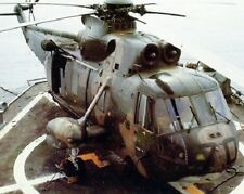 U.S. Navy Sikorsky SH-3A Sea King Helicopter 8x10 Vietnam War Photo 287