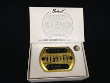 Belcat SW-200 Wireless Sound Hole Acoustic Pickup,Gold,Rechargeable Battery,USB