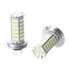 2x H7 3528 102 SMD lampadine faro bulbo bianco fendinebbia a LED H5A1