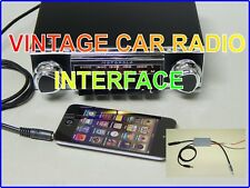 oldtimer autoradio  Interface vintage  Blaupunkt Grundig Philips only AM radios