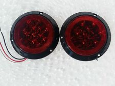 "SURFACE MOUNT 4"" LED STOP / TURN / TAIL LIGHTS NOT CUTTING REQUIRED"