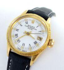 Rolex Date Damenuhr 18kt Gold 750er Ref.6527