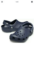 "Crocs Classic Clog ""Navy"" Unisex Brand New 204151-410 New With Tags Quick Ship"