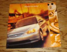 Original 2002 Honda Civic Sedan Deluxe Sales Brochure 02