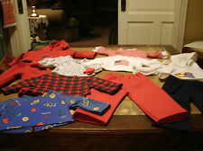 Handmade American Girl Lot of 2nds/Slightly Damaged Items AS IS Red&blue Lot J1