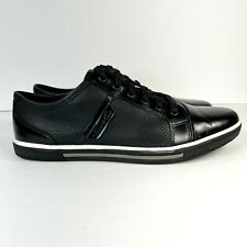 Kenneth Cole Down 2 Earth Tennis Lace Up Men's Size 8.5 Black Sneaker