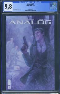 Analog 1 (Image) CGC 9.8 White Pages Gerry Duggan story David O'Sullivan art