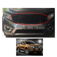 Front Grill Grille Net Black for Nissan NP300 Frontier Navara 2015 2016 2017