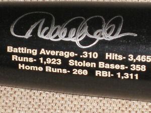 JETER AUTO Final Season Logo/Career Stats P72 Louisville Slugger Steiner & MLB
