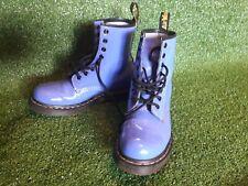 Purple Dr Martens Boots 8 Hole Size UK 5 / EU 38 / US 7 **GOOD CONDITION**