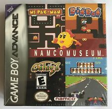GBA Namco Museum (2001), Brand New & Factory Sealed
