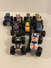 *Damaged Lot* Hot Wheels Monster Trucks 1:64 Scale Diecast Monster Jam