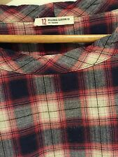 BELLEROSE Girls Plaid Dress Size 12 Worn Once Immaculate!!!!!