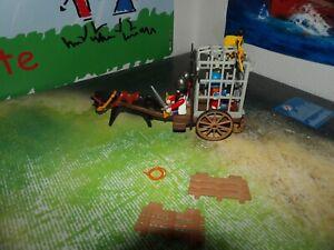 Playmobil  3674 Gefangenentransport komplett