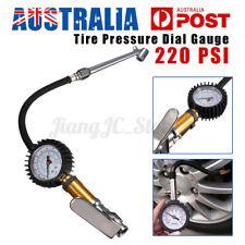 220PSICar Air Tire Tyre Inflator Deflator Gauge Compressor Pressure Meter Tester