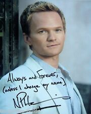 Neil Patrick Harris  8 x 10 Autograph Reprint  How I Met Your Mother  The Smurfs