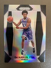 2017-18 Prizm DE'AARON FOX Silver Prizm Rookie RC #24 - Sacramento Kings