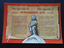 182 - THE LEGENDS OF MANNEKEN PIS BRUSSELS - POSTCARD