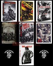 SONS OF ANARCHY - STAGIONI DA 1 A 7(FINALE) - 30 DVD -COFANETTI SINGOLI,ITALIANI