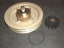 New Raw Sea Water Pump Double V Belt Pulley 21214596 3858229 Volvo Penta 4.3 5.0