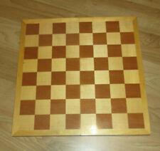 Schach Brett Faltbrett Holz ca. 40 Jahre alt guter Zustand