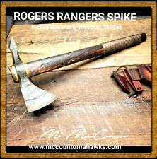 HAND FORGED ROGERS RANGER SPIKE TOMAHAWK BY MARK MCCOUN