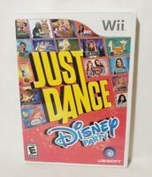 Just Dance: Disney Party (Nintendo Wii, 2012) Complete and Tested