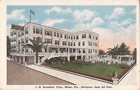 Miami, FLORIDA - Fort Dallas Hotel - ARCHITECTURE