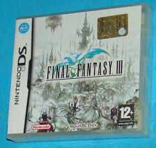 Final Fantasy 3 III - Nintendo DS NDS - PAL