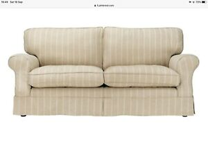 2 LAURA ASHLEY PADSTOW SOFAS INCLUDING SOFA BED - LOOSE COVERS