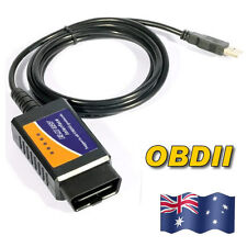 USB ELM327 ELM OBD OBD2 Diagnostic Scanner For PC Engine Scan Tool Code Reader