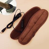 USB Elektrische Beheizte Schuheinlagen Fußheizung Einlegesohlen Winter Fußwärmer