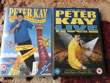2x Peter Kay Dvds Top Of Tower And Manchester