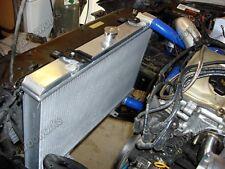 Aluminum Radiator For 89-94 240SX S13 KA24 KA24DE KA24E Manual Transmission