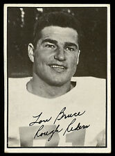 1961 TOPPS CFL FOOTBALL #75 LOU BRUCE EX-NM OTTAWA ROUGH RIDERS QUEENS