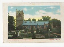 Rostherne Church Bowdon Postcard, A495b