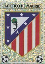 N°O BADGE ESCUDO ATLETICO MADRID CROMO STICKER PANINI LIGA 1997