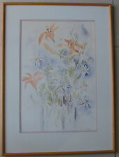 Susan Cadby~larger original painting~Still Life~gallery framed