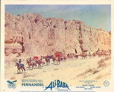 ALI BABA AND THE FORTY THIEVES ORIGINAL LOBBY CARD FERNANDEL 1954