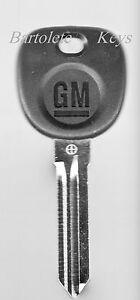 OEM Key Blank Fits Chevrolet Avalanche Express HHR Impala Malibu Silverado Tahoe