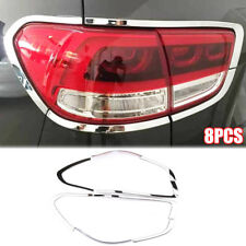 For Kia Sorento UM 2016-2019 Chrome Rear Tail Light Lamp Cover Trim Bezel Frame