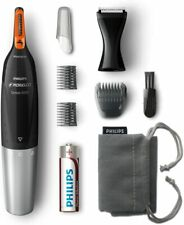 Philips Norelco Nose Hair Trimmer, Washable Mens Precision Groomer Ear Nose Eye