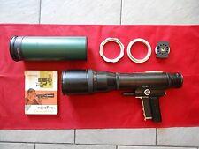 Novoflex set 5.6/f = 400 mm Novoflex noflexar 8/600mm avec platine de raccord, praba
