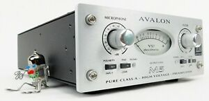 Avalon M5 Mic Preamp Class A-Technik High-End + Wie Neu OVP + 2 Jahre Garantie