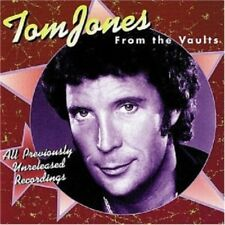 TOM JONES - From The Vaults - (Unreleased Recordings) - *FACTORY SEALED* NEW CD