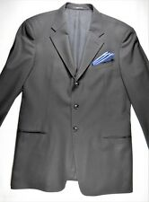 Giorgio Armani Collezioni Mens Tuxedo Tux Jacket Blazer 44 L Black Wool Italy