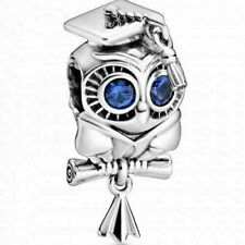 NEW AUTHENTIC PANDORA SILVER CHARM 2020 WISE OWL GRADUATION CHARM #798907C01