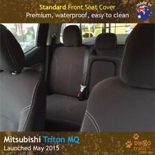 Fits Mitsubishi Triton MQ (May 15-now) FRONT Premium Tough Neoprene Seat Covers