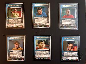 Cards 1//1 Star Trek CCG  Holodeck Adventures Dual Affiliation Rare